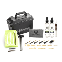 Breakthrough Ammo Can Cleaning Kit -- BT-ACC-U Breakthrough, gun cleaning kit, solvent, lubricant, microfiber towel