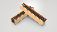 Wicked Edge Blank Leather Strop Pack wicked edge, knife, sharpener, sharpening system, diamond, grit, stone, made in USA